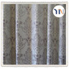 home textile beautiful jacquard 3 pass blackout curtain fabric