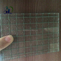 polished wired glass safety wire glass skylight wired glass