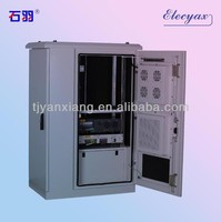 Best Seller Outdoor Enclosure SKW-012/Cable Management Electronic Cabinet/2 Doors Type Telecom Equipment Shelter/Customized Case