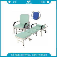 AG-AC001 Hot Sale!!! CE and ISO Approved Bedside hospital recliner chair bed