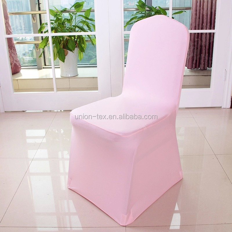 Wholesale cheap colorful spandex chair cover for wedding or banquet