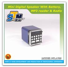 Digital portable bluetooth faber speakers