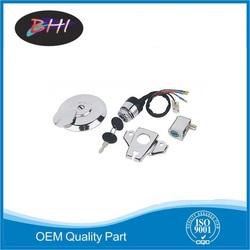 Wholesale motor keys, motorcycle lock set,BHI brand motorcycle fuel lock