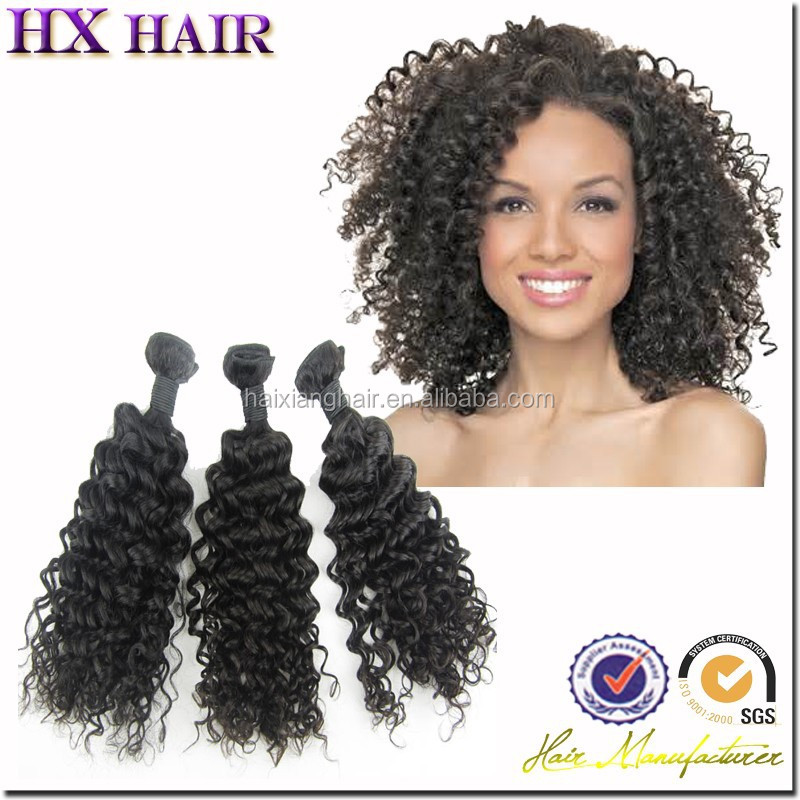 Weave Hair - Buy Different Types Of Curly Weave Hair,Different Types ...