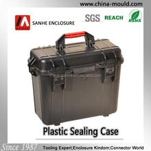 high class waterproof plastic equipment case with handle
