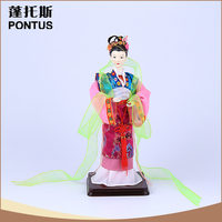 Chinese style home decoration hand control wooden puppet for adult