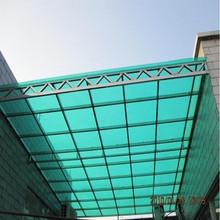 Aluminium frame carport with laminated glass roof