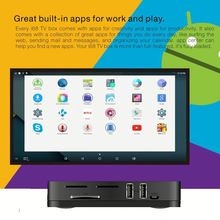 Roofull useful android tv set top box android 5.1 octa core 2G+8g rockship rk3368 h.265 full hd 3d 4k I68 android tv box