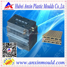 WPC PVC wood plastic hollow decking floor extrusion moulds/dies