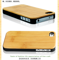 Durable for wood iphone 4s case/for bamboo iphone 5c case/for iphone 4 case wooden best price