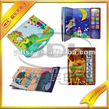 cheap programmable recordable baby book ,can read vehicle/fruit /animal