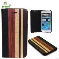 Unique mixing woods phone cover,wood phone shell for iphone 6