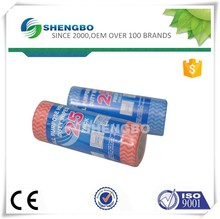 Factory Nonwoven cleaning cloth roll 20*30cm RED/BLUE
