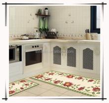 Water absorbent kitchen mat