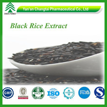 GMP factory supply Black Rice Extract powder in dried vegetables 5%-50%