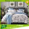 High Thread Count Colorful Bed Sheets 100% Cotton Duvet Cover