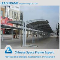 Steel Frame Metal Car Parking Canopy for Sale