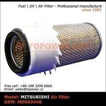 OEM MD603446 wholesale coal carbon air filter cartridge