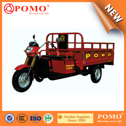 POMO-2015 New design low price Steed3500 200cc Motor Tricycle For Cargo