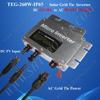 Top seller solar power dc 22-50v pure sine wave 260w grid tie inverter ac 240v