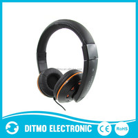 2015 powerful bass computer headphone with Microphone,High quality computer headphones