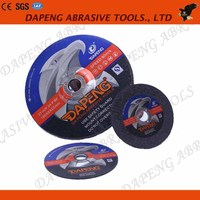 T27 Power tools of Cutting and grinding wheel/ disc for metal/stone/stainless steel