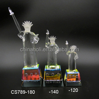 Crystal Statue of Liberty glass decoration hot selling gift
