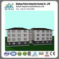 De acero de gran altura prefabricada de construcción utilizado como apartamento