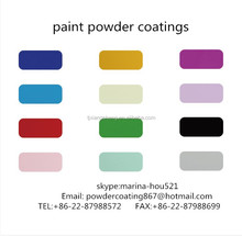 Far infrared exterior epoxy polyester powder coatings paint