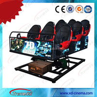 Best quality home cinema 5D simulation mobile 5D theater 4D ride movie for sale
