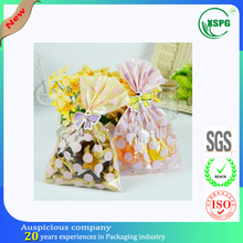 Eco-friendly security bopp jelly candy bag