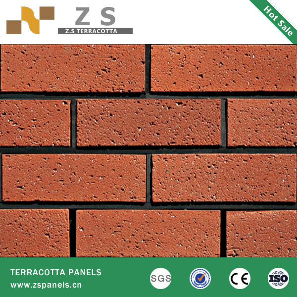 terracotta tile panel clay curtain wall bricks brick china exterior