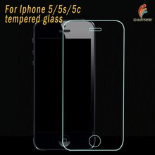 Highest Level 2.5D Arc Typ Design For Iphone 5 Screen Protector With Soft Card