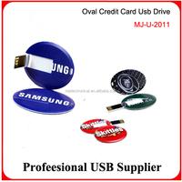 OEM 2GB/4GB/8GB/16GB/32GB credit card usb flash drive memory stick pen drive print any logo
