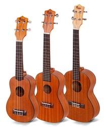 Kaka KUS/C/T-21 china bass electric chard bass electric engraving hard case ukulele