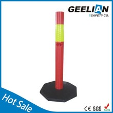 reflective collapsible safety cone Road Leader flexible warning post