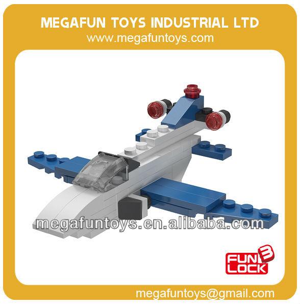 FUNLOCK planos de construcción de bloques juguetes educativos para adultos de plástico
