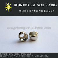 Metal ring shape hanging beads