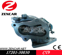 k18 material CT9 Replacement turbocharger 2.5L for Toyota HIACE with 2KD-FTV Engine 17201-30030