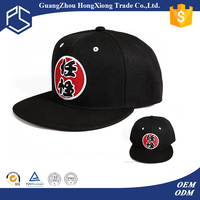 Top Selling round fedora cheap custom king ropes snapback cap sew on embroidery letter patches for hat