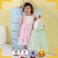 High quality casual style Dress with lace pattern girl dresses export from india