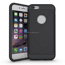 Fashion 2 in 1 slim armor case, tpu cell phone case/pc case for iphone 6