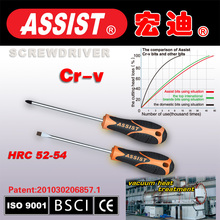 ISO9001 cross head drill bit CRV shaft screwdriver hand tools