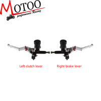 """Motoo - 7/8"""" Front Brake Clutch Hydraulic Master Cylinder Lever For 100-600cc Sport /Street /Scooter /Dirt Bike"""