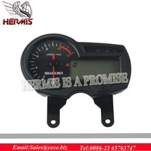 11K RPM kmh/mph Display Motorcycle LCD Digital Odometer Speedometer Tachometer