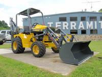 Mini tractor loader backhoe