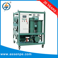 most efficiency ZYD oil filtration machine for transformer