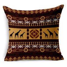 Fashion tribal pattern airplane head pillow