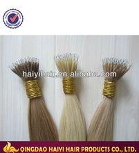 Real Hair 18inch virgin 100% Nano Hair chinese hair growth pills