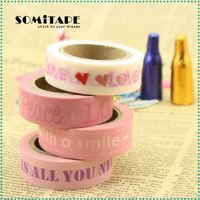 Writable Rice Masking Tape Memo Paper For Diy Hand-Made Art Working